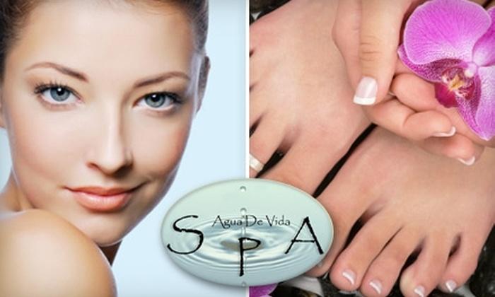 Agua De Vida - San Gabriel: $85 for a Pamper Me Package at Agua de Vida Spa in San Gabriel ($205 Value)