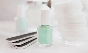 A.Q. Nails: One or Two Groupons, Each Good for One No-Chip Manicure at A.Q. Nails (Up to 46% Off)