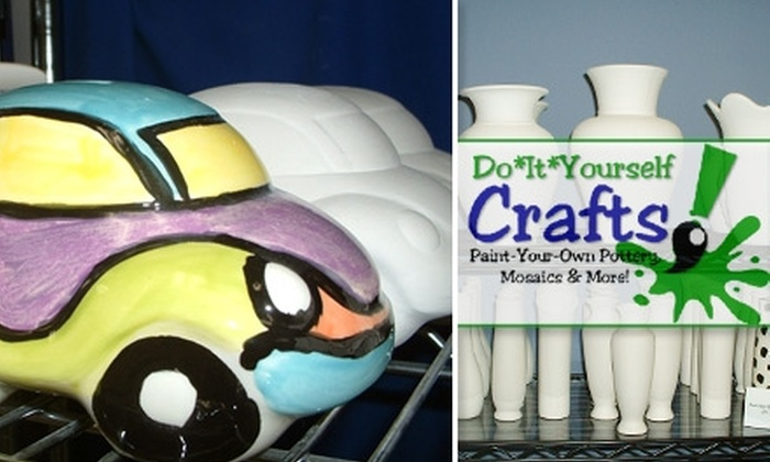 Do*It*Yourself Crafts - Homewood: $10 for $20 Worth of Pottery and Mosaic Projects at Do*It*Yourself Crafts