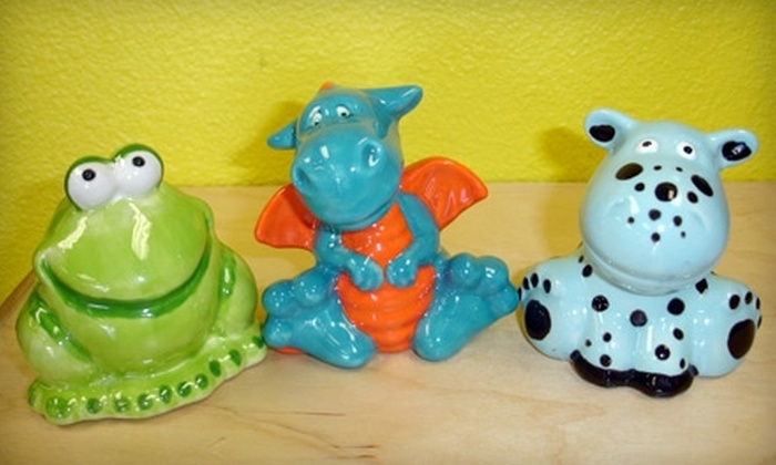 Paint A Dream - Multiple Locations: $19 for $40 of Custom Ceramic Creations at Paint a Dream