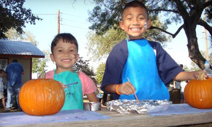 Devine Acres Farm - Devine: $4 for Admission to Pumpkin Extravaganza at Devine Acres Farm in Devine (Up to $8 Value).