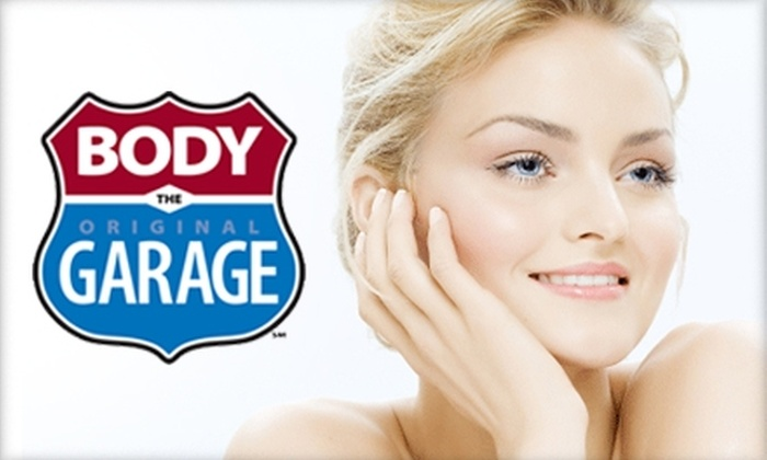 The Body Garage - Sioux Falls: $60 for Your Choice of Microdermabrasion or Chemical Peel at The Body Garage ($125 Value)