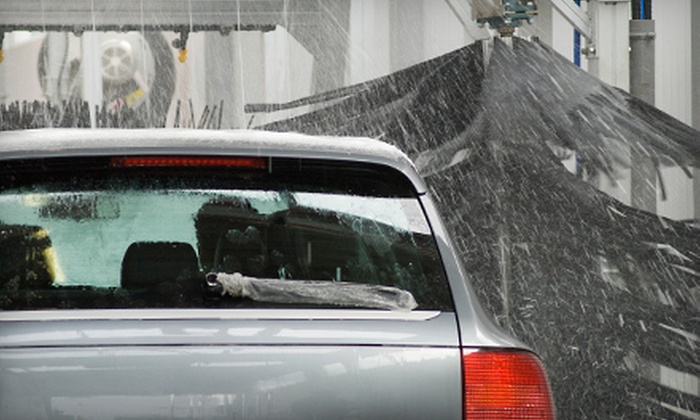 Boomerang Carwash - Multiple Locations: $15 for a $30 Carwash Gift Card to Boomerang Carwash