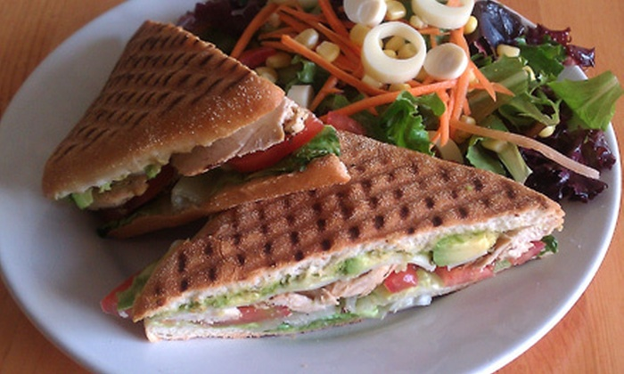Vees Cafe - Los Angeles: $10 for $20 Worth of Café Fare and Organic Coffee at Vees Cafe in Culver City