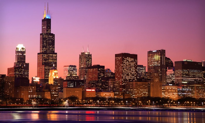 Crowne Plaza Chicago Metro - Near West Side: One-Night Stay for Two with Valet Parking at the Crowne Plaza Chicago Metro