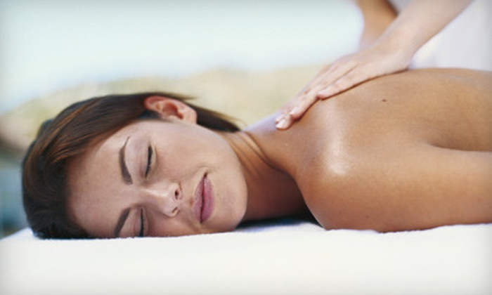 Enigma Medi Spa - Somerton: Salt-Sauna and Body-Polish or Thai-Massage and Caviar-Facial Packages at Enigma Medi Spa (Up to 74% Off). Four Options Available.
