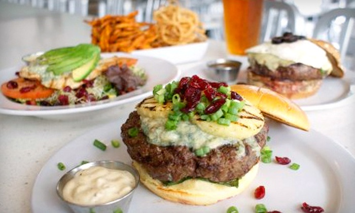 The Counter - Lakeview: $10 for $20 Worth of Gourmet Custom Burgers at The Counter