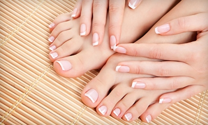 Derma Spa Riverside - Multiple Locations: $40 for Spa Signature Manicure and Pedicure at Derma Spa in Riverside ($85 Value)