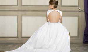 Ainhoa Salcedo Couture: Paga 79,90 € y obtén un descuento de 1.500 € en tu traje hecho a medida de novia, madrina o traje de fiesta