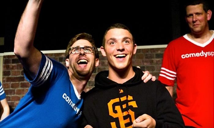 ComedySportz - Sacramento: $9 for Two Tickets to an Improv Comedy Show at ComedySportz (Up to $20 Value)