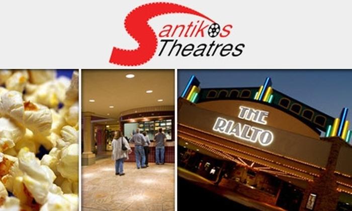 Rialto Cinema Bar & Grill - Village North: $17 for Two Tickets to The Rialto