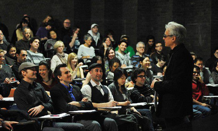 Raindance Filmmaking - Downtown Toronto: One-Day Introductory Filmmaking Course or a Two-Day Comedy-Writing Course from Raindance