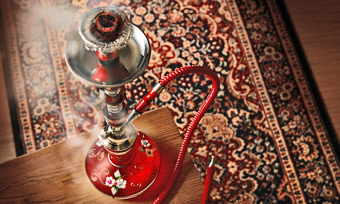 Pyramid Hookah - Broadmoor: Hookah Outing with Drinks and Snacks for 4, 8, or 12 at Pyramid Hookah (Up to 57% Off)