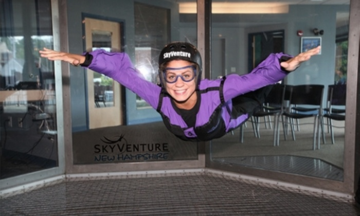 SkyVenture New Hampshire - Southeast Nashua: $55 for a Four-Minute Indoor Skydiving Experience at SkyVenture New Hampshire in Nashua (Up to $95 Value)