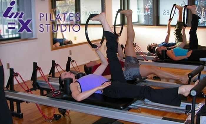 IM=X Pilates Studio - Midtown South Central: $65 for Four Reformer Sessions or Two Private One-on-One Sessions at IM=X Pilates Studio (Up to $230 Value)