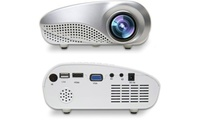 Portable Mini LED Projector with USB SD HDMI from AED 299 (Up to 58% Off)