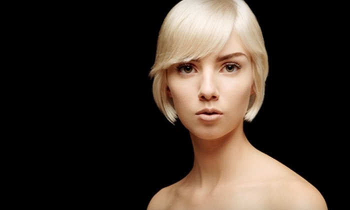 London House Salon - Seattle: $40 for Cut, Style, Deep Conditioning, Eyebrow Shaping, and Espresso at London House Salon ($90 Value)