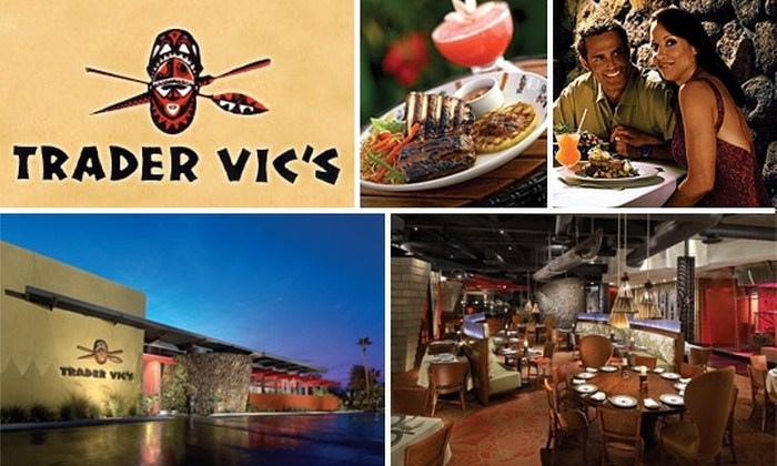 Hotel Valley Ho - Downtown Scottsdale: $15 for $30 Worth of Polynesian Cuisine and Drinks at Trader Vic's Scottsdale