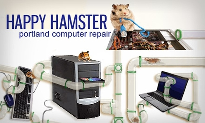 Happy Hamster Computers - King: $49 for a Complete Computer Tune-Up from Happy Hamster Computers ($99 Value)