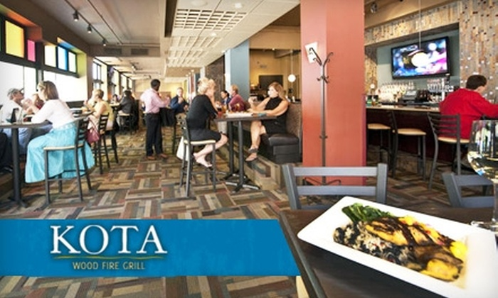 Kota Wood Fire Grill - Grand Center: $15 for $35 Worth of Flame-Kissed Cuisine at Kota Wood Fire Grill