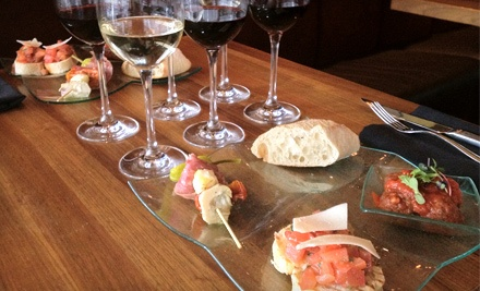 Tasting Experience for 2 of Italian Wines and Food (a $52 total value) - Indulge Bistro & Wine Bar in Highlands Ranch