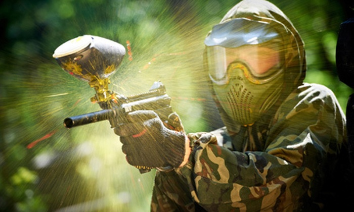 Apocalypse Paintball - Pleasant: Paintball Outing for One, Two, or Four at Apocalypse Paintball in Angola (Up to 55% Off)