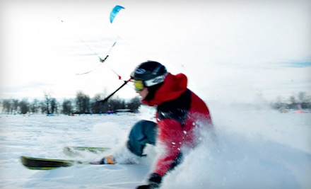 One-Hour Introduction Kite Lesson (a $70 value) - Aerial Kiteboarding in Winnipeg