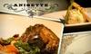 Anisette Brasserie [Closed] - Downtown Santa Monica: $25 for $50 Worth of Fine French Cuisine at Anisette Brasserie