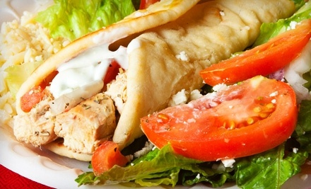 $10 Groupon to Greek House Cafe - Greek House Cafe in Santa Barbara