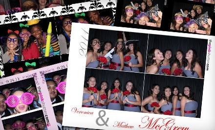 1-Hour Photo-Booth Rental - Pink Shutter Photobooths in