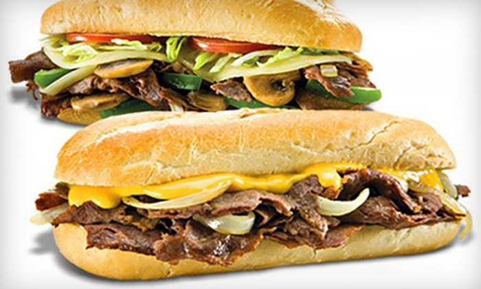Great Steak - Short Pump Town Center: $8 for a Sandwich Meal for Two with Drinks and Sides at Great Steak (Up to $16.36 Value)