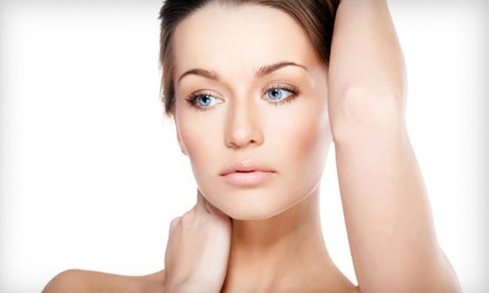 Indira Salon & Spa - Multiple Locations: Aveda Hair-Smoothing Treatment or Botanical Skin-Resurfacing Facial at Indira Salon & Spa (Up to 61% Off)
