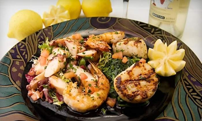 Athena Greek Cuisine - Desert View: $10 for $20 Worth of Greek Dinner Fare and Drinks at Athena Greek Cuisine