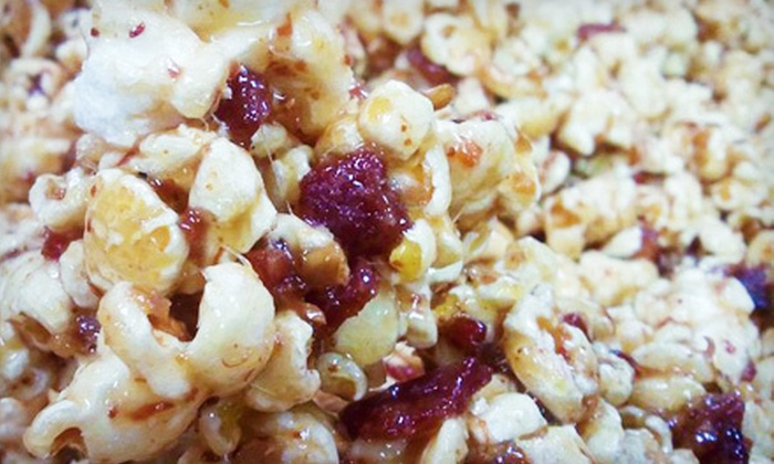 The Popcorn Fanatic - The Popcorn Fanatic: Gourmet Popcorn at The Popcorn Fanatic in Winston-Salem (Half Off). Two Options Available.