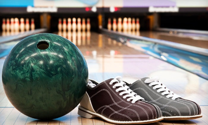 Lincoln Square Lanes - Chicago: Bowling Games and Shoe Rentals for Two with Option for Drinks and Pizza at Lincoln Square Lanes (Up to 56% Off)
