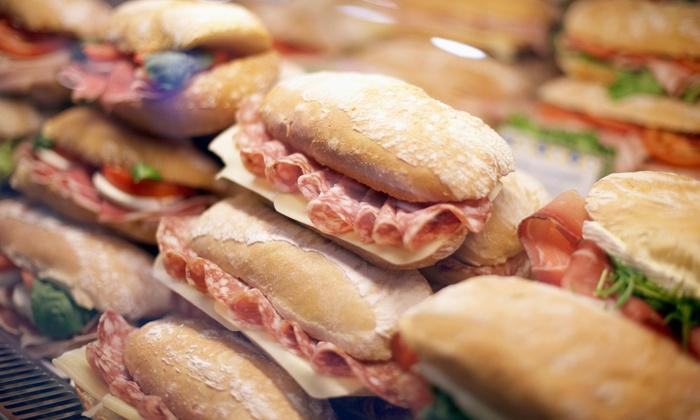 Santa Cruz Deli & Creamery - Marlborough: One Free Side Dish with Purchase of A Sandwich at Santa Cruz Deli & Creamery