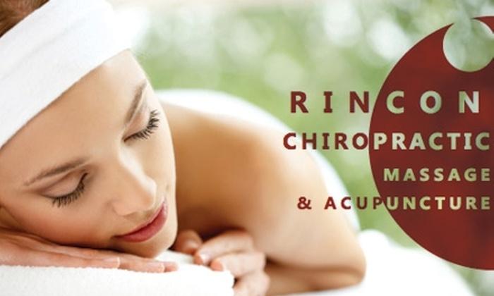 Rincon Chiropractic Massage & Acupuncture - San Francisco: $45 for a One-Hour Massage at Rincon Chiropractic Massage & Acupuncture ($90 Value)