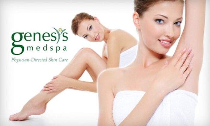 Genesis MedSpa - Broadmoor: $119 for a Six-Treatment Laser Hair-Reduction Package at Genesis MedSpa (Up to $1000 Value)