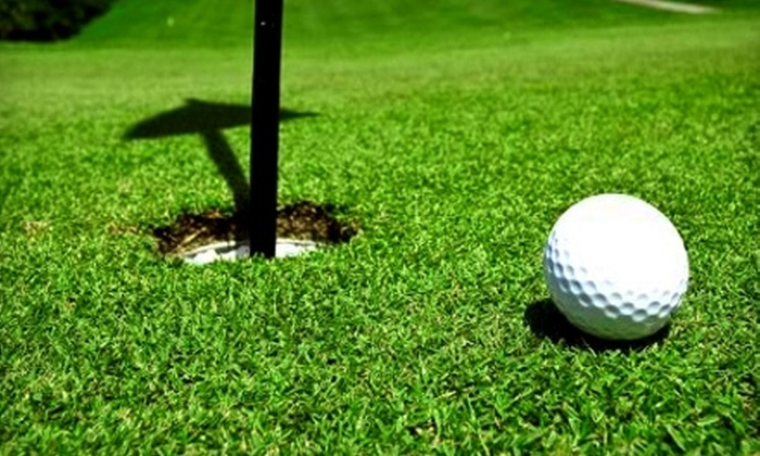 Point Venture Golf Club - Point Venture: $28 for 18 Holes of Golf for Two, Cart Rental, and One Large Bucket of Range Balls at Point Venture Golf Club (Up to $64 Value)