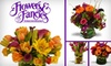 Flowers & Fancies - Owings Mills: $25 for $55 Worth of Floral Arrangements from Flowers & Fancies