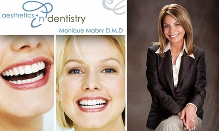 Aesthetics In Dentistry - Newton Center: $179 for Zoom! Teeth Whitening from Monique Mabry D.M.D. at Aesthetics in Dentistry ($499 Value)