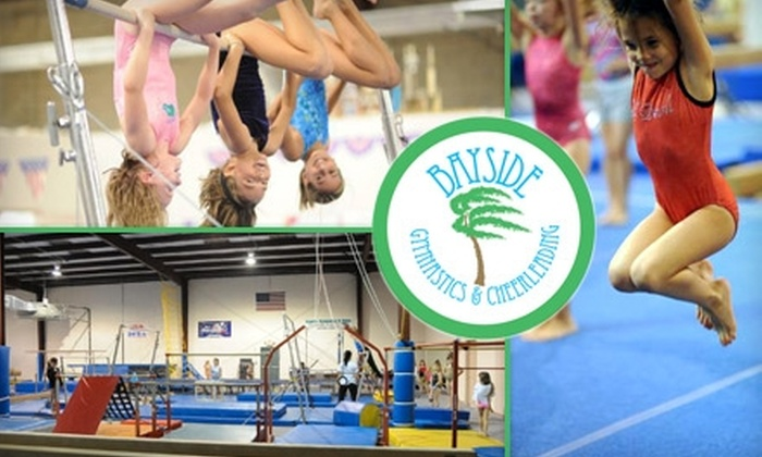 Bayside Gymnastics & Cheerleading - Multiple Locations: $19 for Four Weeks of Children's Gymnastics Classes at Bayside Gymnastics & Cheerleading ($85 Value)