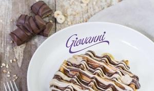 Giovanni: 1, 2 o 4 gofres y batidos de helado para 1, 2 o 4 personas desde 4 € en 8 locales Giovanni