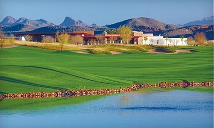 Trilogy Golf Club at Vistancia - Vistancia: $7 for One Day of Unlimited Access to Practice Facilities at Trilogy Golf Club at Vistancia ($15 Value) in Peoria
