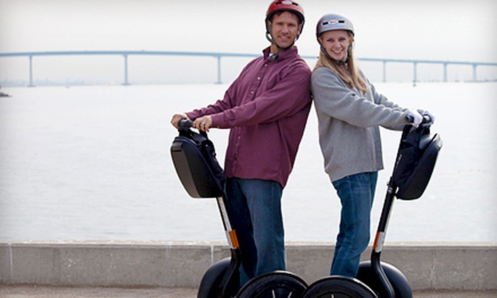 Another Side of San Diego Tours - Horton Plaza: $49 for a Two-Hour Segway Tour from Another Side of San Diego Tours ($149 Value)