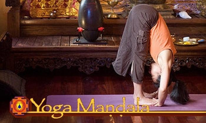 Yoga Mandala - Elmwood: $29 for a One-Month Pass to Yoga Mandala ($108 Value)