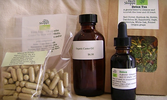 The Herb Shoppe - Portland: $49 for a Spring Detox Kit at The Herb Shoppe ($98 Value)