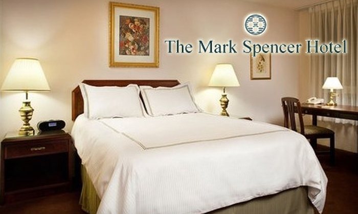The Mark Spencer Hotel - Eugene: $89 for One Night in an Executive Suite with Included Parking at The Mark Spencer Hotel
