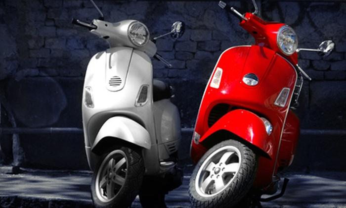 Paradise Rent-a-Car - Waikiki: One- or Three-Day Moped Rental from Paradise Rent-a-Car (Up to 56% Off)