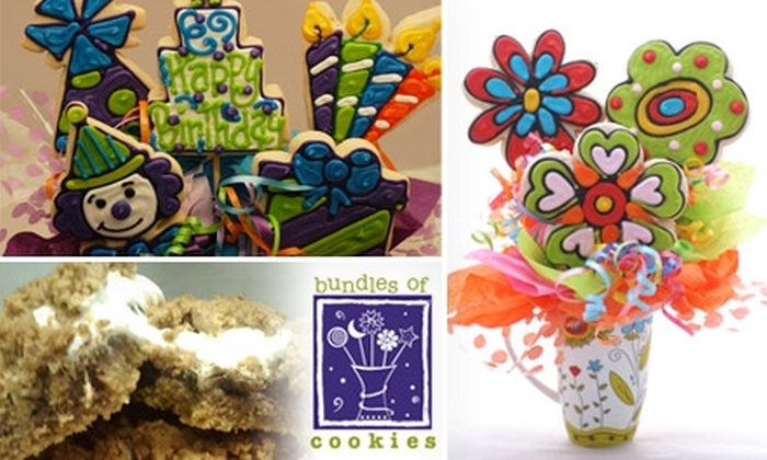 Bundles of Cookies - Washington DC: $15 for $30 Worth of Gourmet Baked Goods and Edible Gift Arrangements at Bundles of Cookies in Bethesda